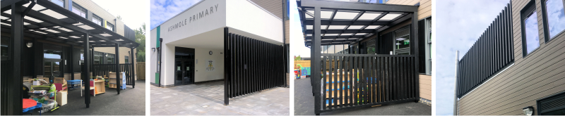 Timber Free Standing Canopy | Timber Side Screens | Able Canopies & Projects