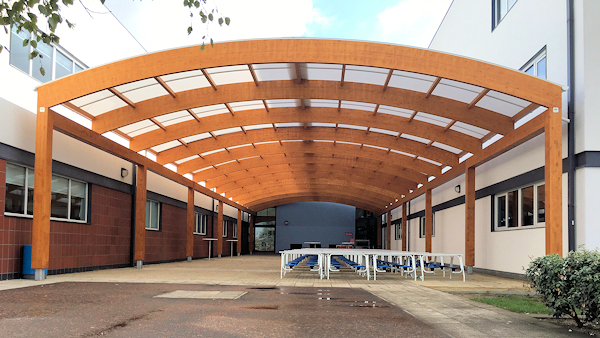Canopies for Schools - Outside Dining