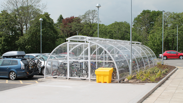 Shelters and Compounds for Schools - For Cycle Storage