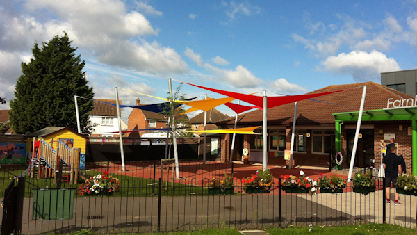 Shade Sails for Schools - For Sun Protection