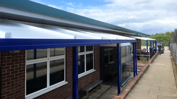 Canopies for Schools - For Classroom Shade and Shelter