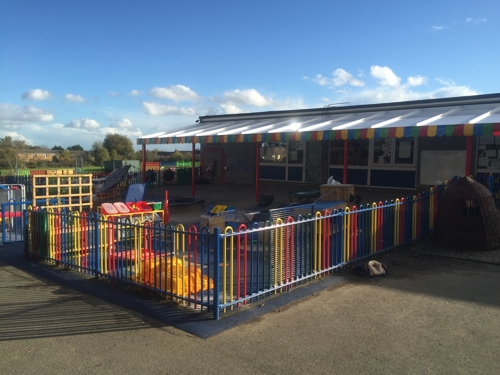 Canopies for Nurseries - Nursery Canopies - Able Canopies Ltd.