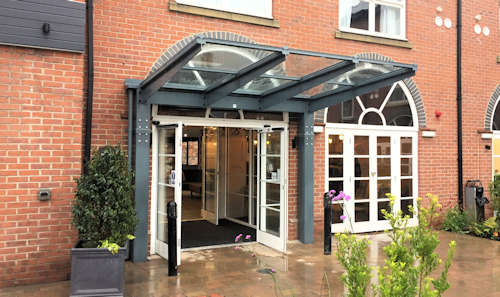 Entrance Canopies for the Leisure Sector - DoubleTree Hilton, York