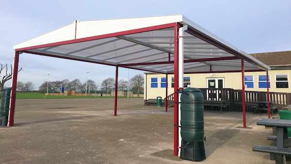 Free Standing Canopies for Colleges and Universities