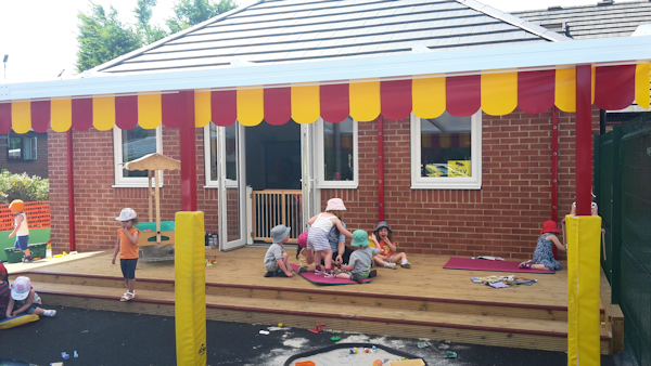 Canopies for Nurseries - Colourful Canopies
