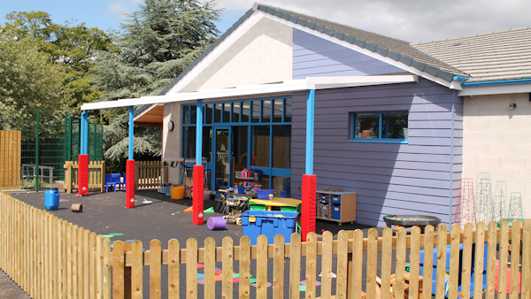 Canopies for Nurseries - Post Pads for Protection