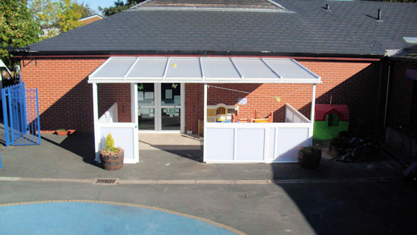 Canopies for Nurseries - Safety Barriers
