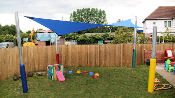Canopies for Nurseries - Shade Sails