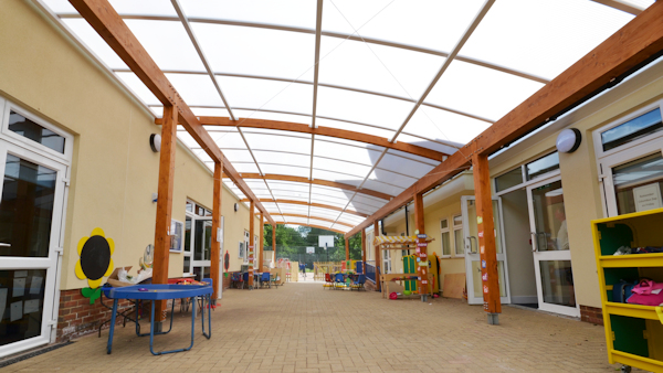 Canopies for Nurseries - Timber Canopies