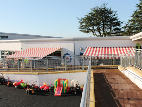 School Awnings | Commercial Awnings for Schools