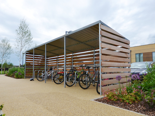 School Shelters | Waiting, Buggy and Cycle Shelters for Schools