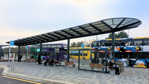 Solar Canopies and Bus Shelters for Colleges and Universities