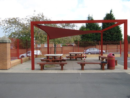 Waterproof Shade Sails for Schools
