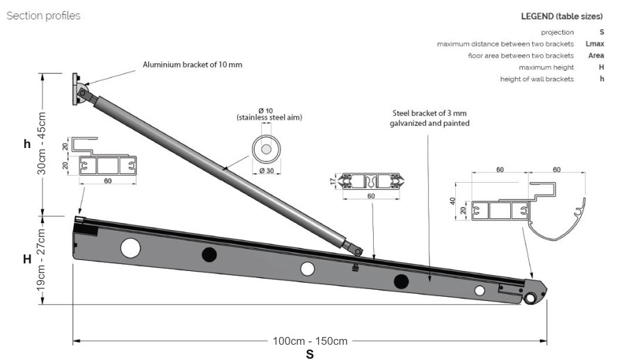 The Beck Entrance Canopy Technical Specification