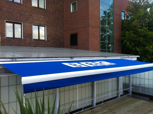 BBC Television Centre, London - Full Cassette Awning Case Study