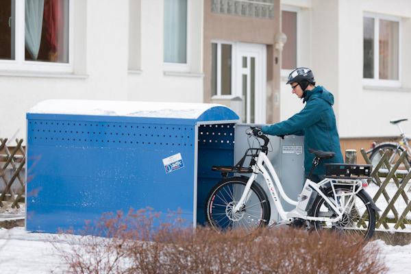 Bike Storage - Single Bike Box