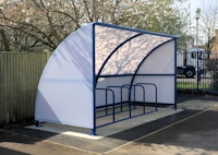 Cycle Shelters - Able Canopies Ltd.