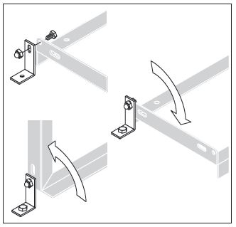 Floor Mounting Brackets for Bike Racks