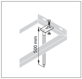Ground Tie Bolts for Bicycle Racks
