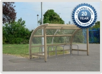 The Denver Timber Cycle Shelter