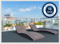 Rooftop Terrace Aluminium Decking - Ali-Deck from Able Canopies Ltd.