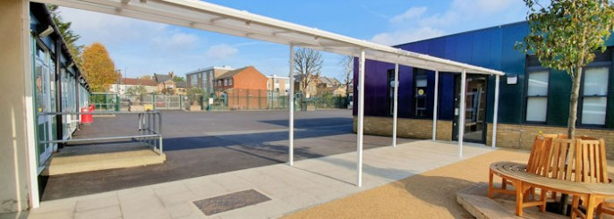 Covered Walkways Free Standing And Wall Mounted Able