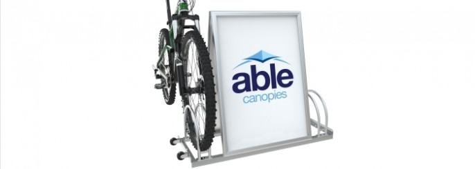 Bicycle Advertising Stands