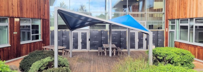 Waterproof Fabric Shade Sails & Waterproof Shade Sails | Commercial Grade Fabric | Durable Steel ...
