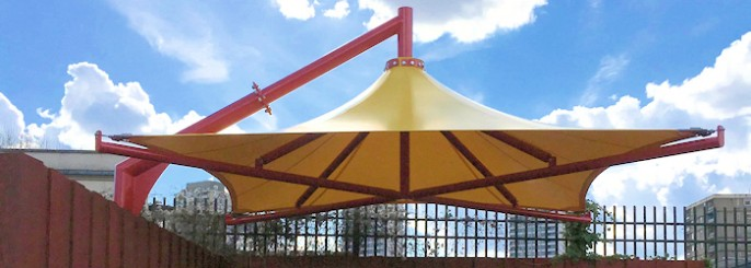 Cantilever Umbrellas & Cantilever Umbrellas for Schools Restaurants and Hotels| Canopies ...