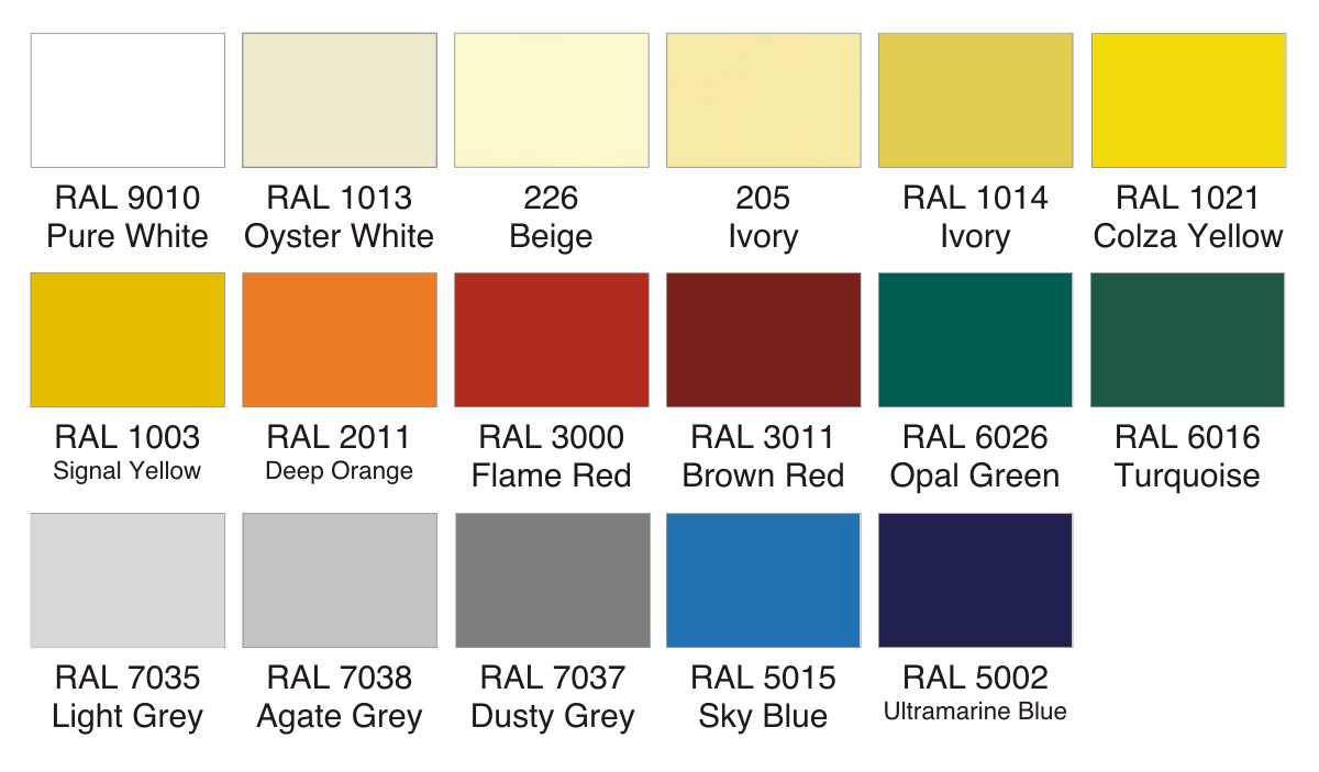Banbury Fabric Shade Sail Colour Options