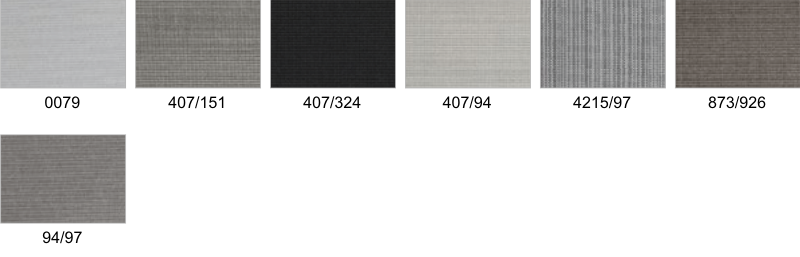 Awning Fabric Colour Options - Sandatex - Able Canopies Ltd.
