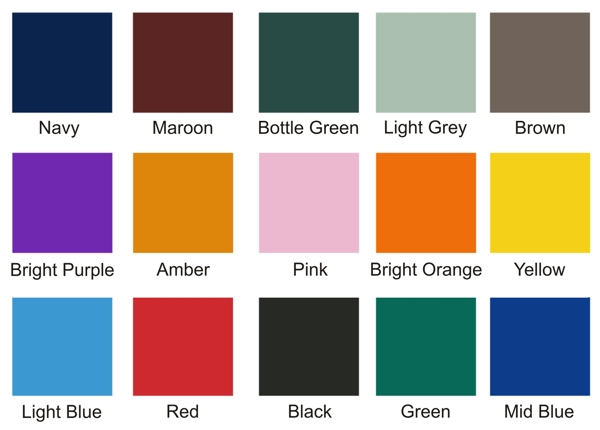 Canopy Post Pad Colour Options