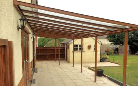 Residential Garden Veranda - Able Canopies Ltd.