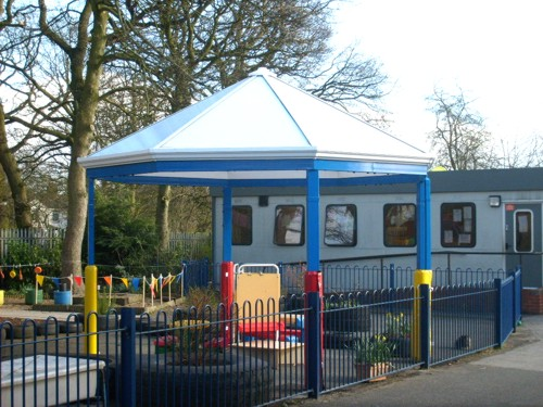 Talbot Primary School Leeds Free Standing Canopy Able