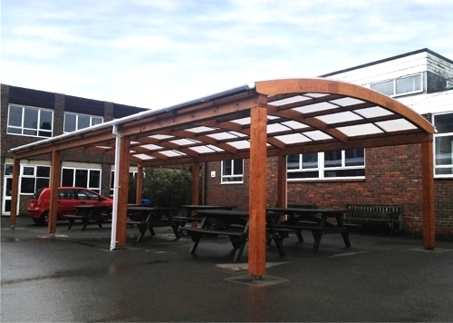 Carshalton High School For Girls Third Timber Canopy