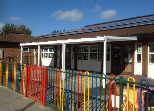 Culvers House Primary School Mitcham Wall Mounted