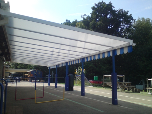 The Brook School Crawley Wall Mounted Canopy Able