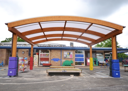 Wexham Court Primary School Slough Second Timber Canopy