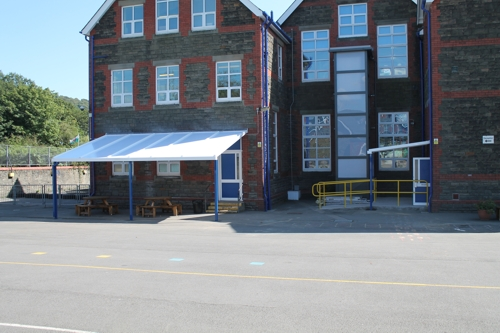 Parc Lewis Primary School Pontypridd Able Canopies Ltd
