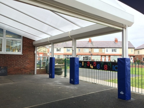 Freckleton Ce Primary School Lancashire Able Canopies Ltd