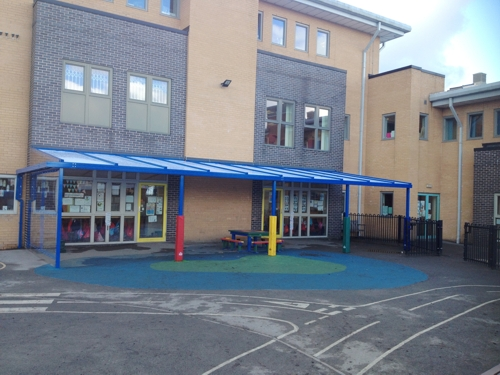 Moorlands Primary School South Yorkshire Able Canopies Ltd