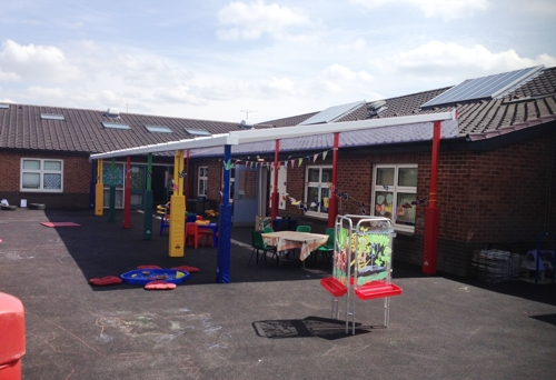 Hilton Primary School Derby Able Canopies Ltd