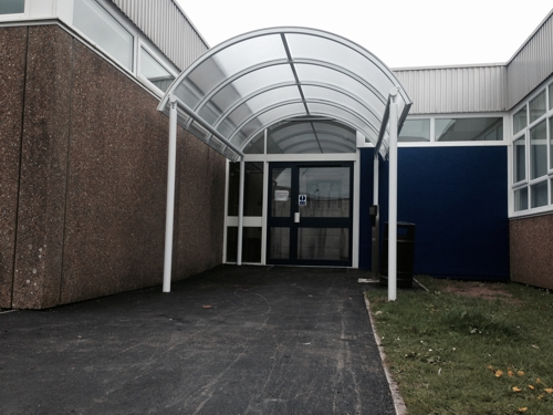 Tredegar Comprehensive School Cardiff Able Canopies Ltd