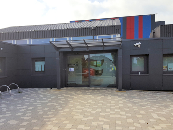 Redwell Primary School Entrance Canopy Able Canopies