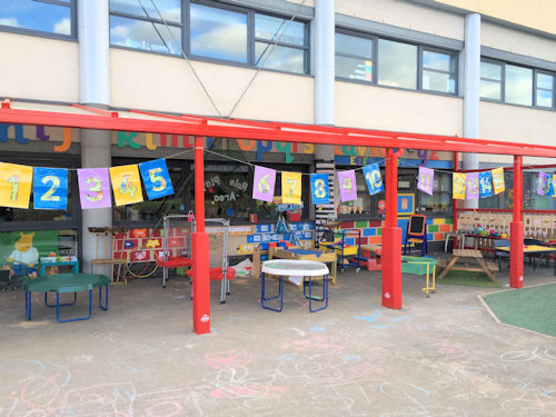 Moston Fields Primary School Wall Mounted Canopy With 5mm