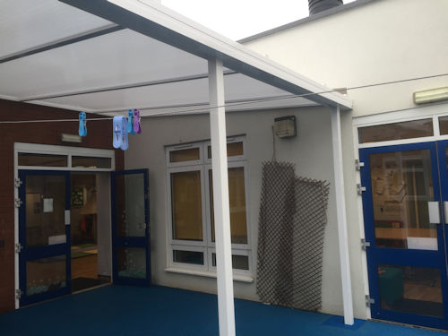 Beechwood Childrens Centre Wall Mounted Canopy Able