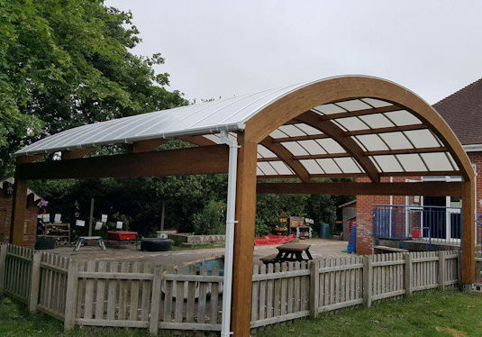 Wix Amp Wrabness Primary School Tarnhow Able Canopies Ltd