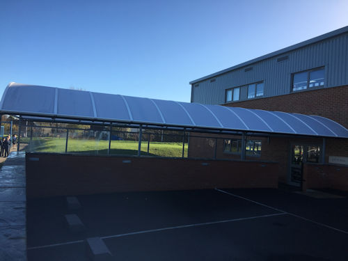 The Premier Academy Ltd Free Standing Canopy Able