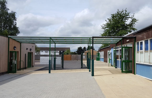 The Willows Primary School Free Standing Canopy Able