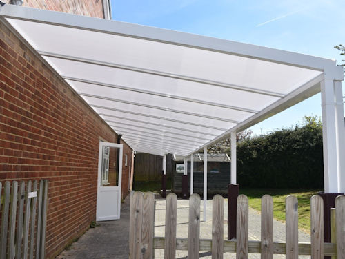 Wanborough Village Hall Able Canopies